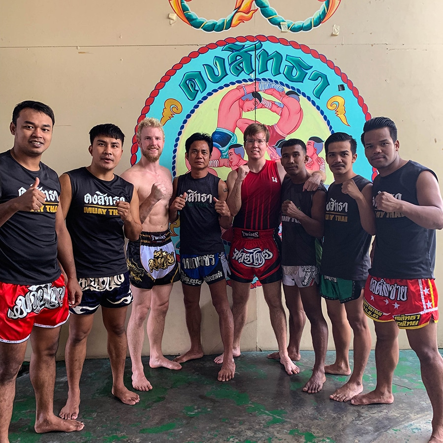 muay thai camp khongsittha