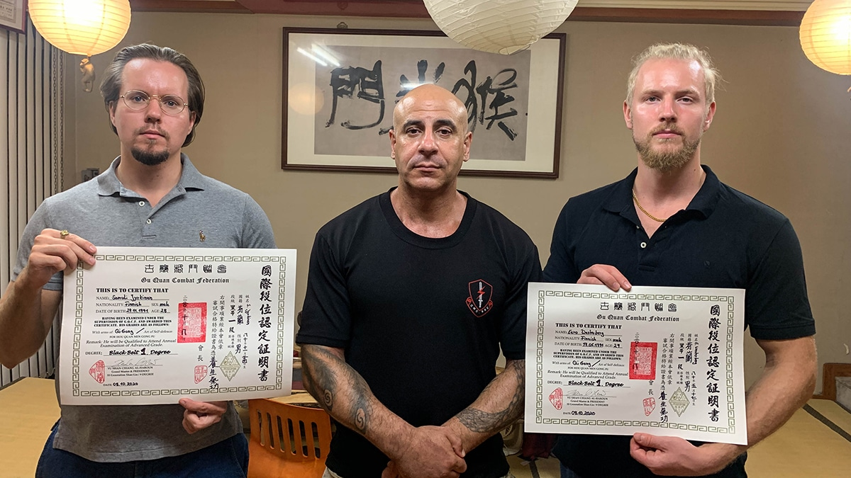 black belt in kung fu and qigong
