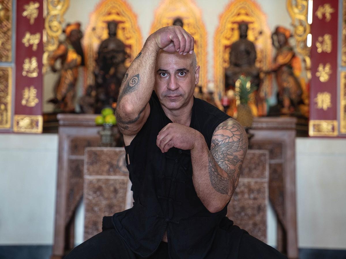 real monkey kung fu master