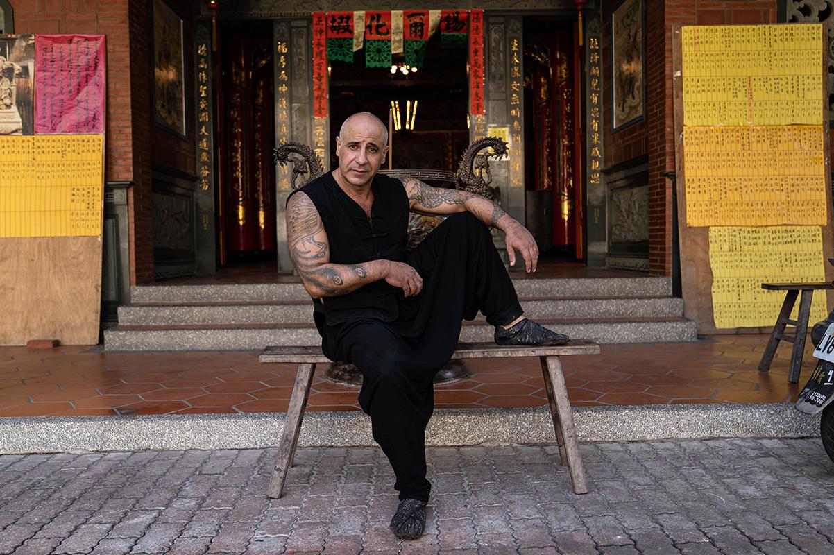 friendly kung fu master